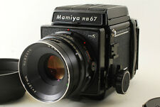 [EXC+++] Mamiya RB67 Pro S Sekor C 90mm F3.8 Lens 120 Film Back From JAPAN #230