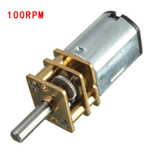 Micro Gear Box  Speed Reduction Motor  Electric Geared Motor DC//6V 50 To 300 RPM