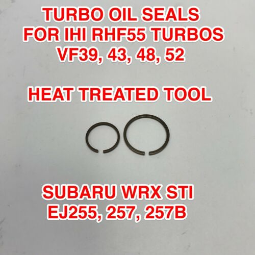 VF48 TURBO OIL SEALS PISTON RINGS FOR IHI VF39 VF43 VF52 EJ257 SUBARU WRX STI