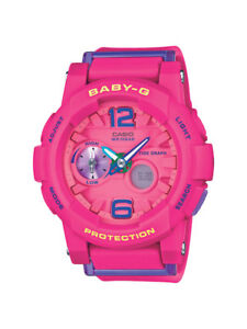 Casio-Baby-G-Uhr-BGA-180-4B3ER-Analog-Digital-Pink