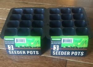 6-Seeder-Trays-72-Cells-Plant-Seed-Starts-Early-Grow-Food-Indoors-Flexible-Gift