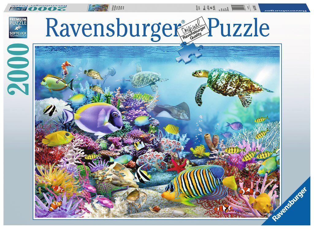 RAVENSBURGER 16704 Puzzle 2000 Pieces ARRECIFE CORAL Coral Reef puzzle
