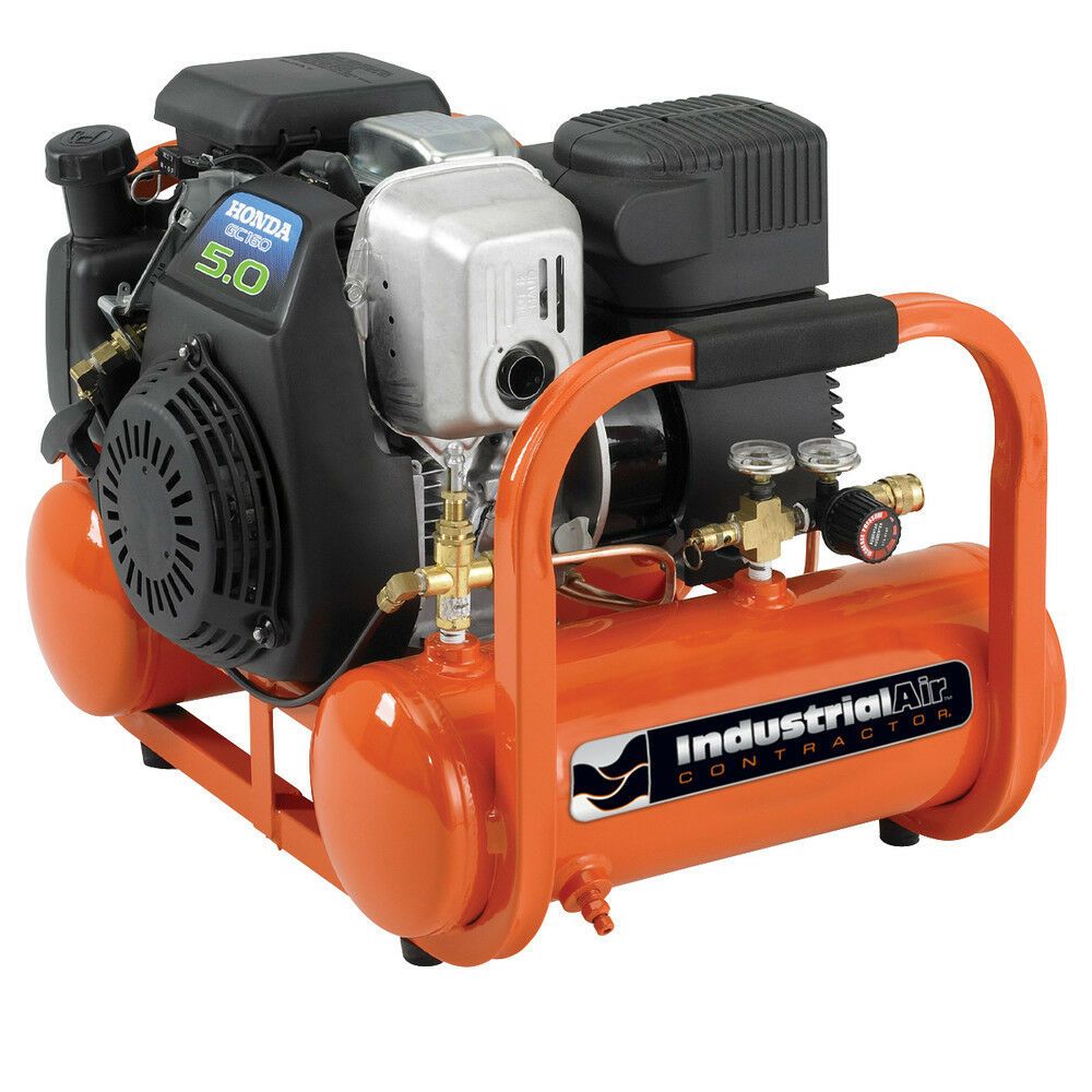 Industrial Air 5 HP 4 Ga. Oil Free Pontoon Air Compressor CTA5090412 New