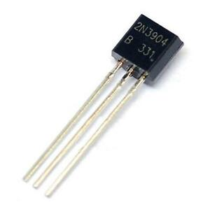 100Pcs-2N3904-TO-92-NPN-General-Purpose-Transistor-WK