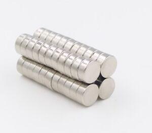 50-Stk-Starke-Neodym-Magnete-N52-7x3mm-Rund-Magnet-Pinnwand-Kuehlschrank-Buero