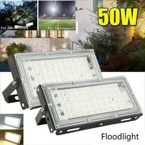 50W-LED-Arbeitsleuchte-Baustrahler-Fluter-Handlampe-Strahler-Flutlicht-Lampe-DE