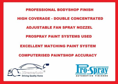 Volkswagon Caddy Mk3 /& 4 AUTO corpo pittura BASECOAT aerosol Touch Up SCRATCH REPAIR 1
