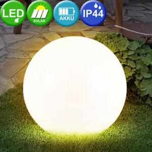 LED boule solaire prise luminaire jardin éclairage extérieur lampe ...