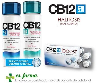 CB 12 Cb12 Care Oral Bad Breath Halitosis Chewing Gums Rinse 250ml  Mouthwash | eBay