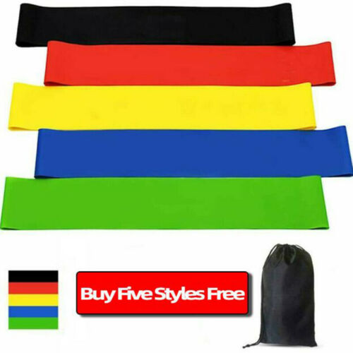 Resistance Bands Loop Exercise Elastic Band Fitness Training Rubber Gym YODDE