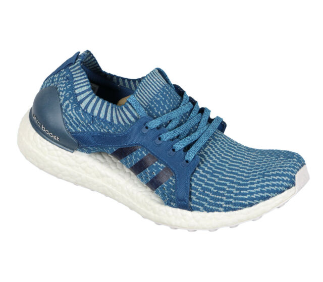 a219863738f46 ADIDAS Women s UltraBOOST X Parley Running Shoes sz 9 Core Blue Intense Blue