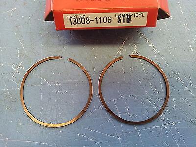 Kawasaki KX80 Piston Ring Set 13008-1106 NOS