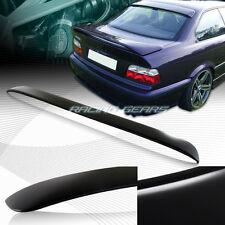 UNPAINT BLACK ABS PLASTIC REAR WINDOW VISOR SPOILER WING FIT 92-98 BMW E36 2-DR