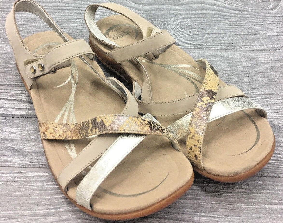ABEO LAGUNA Ladies Metatarsal Foot-Bed Strap Strap Strap Sandals Dimensione US10  (  1393 ) 6377f4