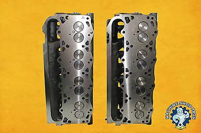 Ford Navistar Diesel 7.3 NON PowerStroke Cylinder Heads PAIR F-250 F-350 88-94