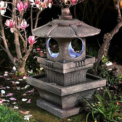 water fountain zen garden