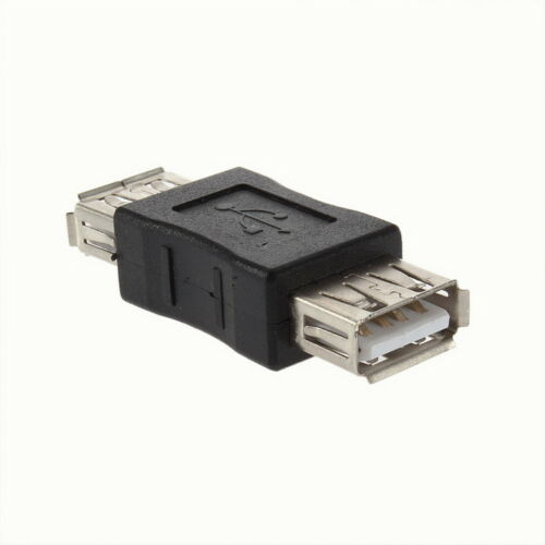 New USB A Female to USB Female Adapter Convertor Changer Coupler
