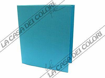 Energico Quaderno Ad Anelli - A4 - Tinta Unita Azzurro Sapore Puro E Delicato
