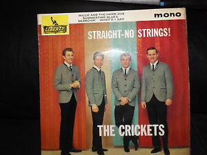 The Crickets   Straight  No Strings EP - <span itemprop=availableAtOrFrom>Oban, United Kingdom</span> - The Crickets   Straight  No Strings EP - Oban, United Kingdom