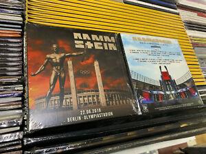 RAMMSTEIN-2-CD-LIVE-IN-BERLIN-OLYMPIASTADION-22-06-2019-SEALED