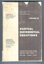Partial Differential Equations - Lipman Bers, Fritz John, Martin Schechter, 1964