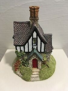 Lilliput-Lane-Rowan-Lodge-Special-Edition-SIGNED-Box-And-Deed