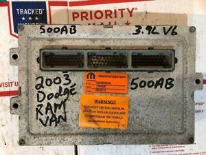 2003-03-Dodge-Ram-Van-3-9-PCM-ECU-ECM-Engine-Control-Computer-R6030500AB-500