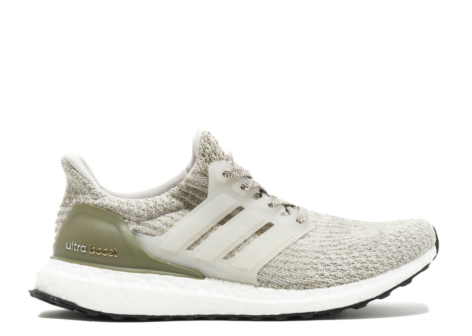 Adidas Ultra Boost 3.0 size 11.5 Pearl Grey/White BA8847 Olive trace cargo