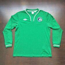Retro Umbro New York Cosmos Soccer Green Football Jersey Mens 44 Large Pelé