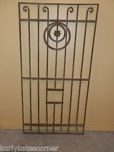 ANTIQUE-EGYPTIAN-WROUGHT-IRON-GATE-PANEL