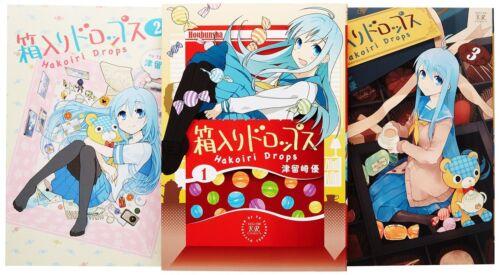 HAKOIRI DROPS TSURUSAKI YUU MANGA SET 1-3 JAPANESE ANIME COMIC BOOK F//S