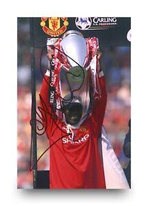 Andy-Cole-Signed-6x4-Photo-Manchester-United-Genuine-Autograph-Memorabilia-COA