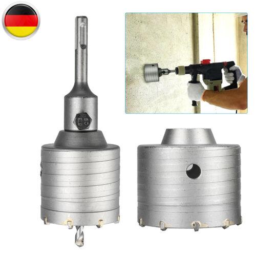 Hohl-Bohrkrone Set Dosenbohrer 65+80mm Mit SDS Plus Adapter Und Zentrierbohrer