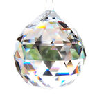 New Chandelier Ball Drop Crystal Glass Lamp Pendant Loose Spacer Bead Clear