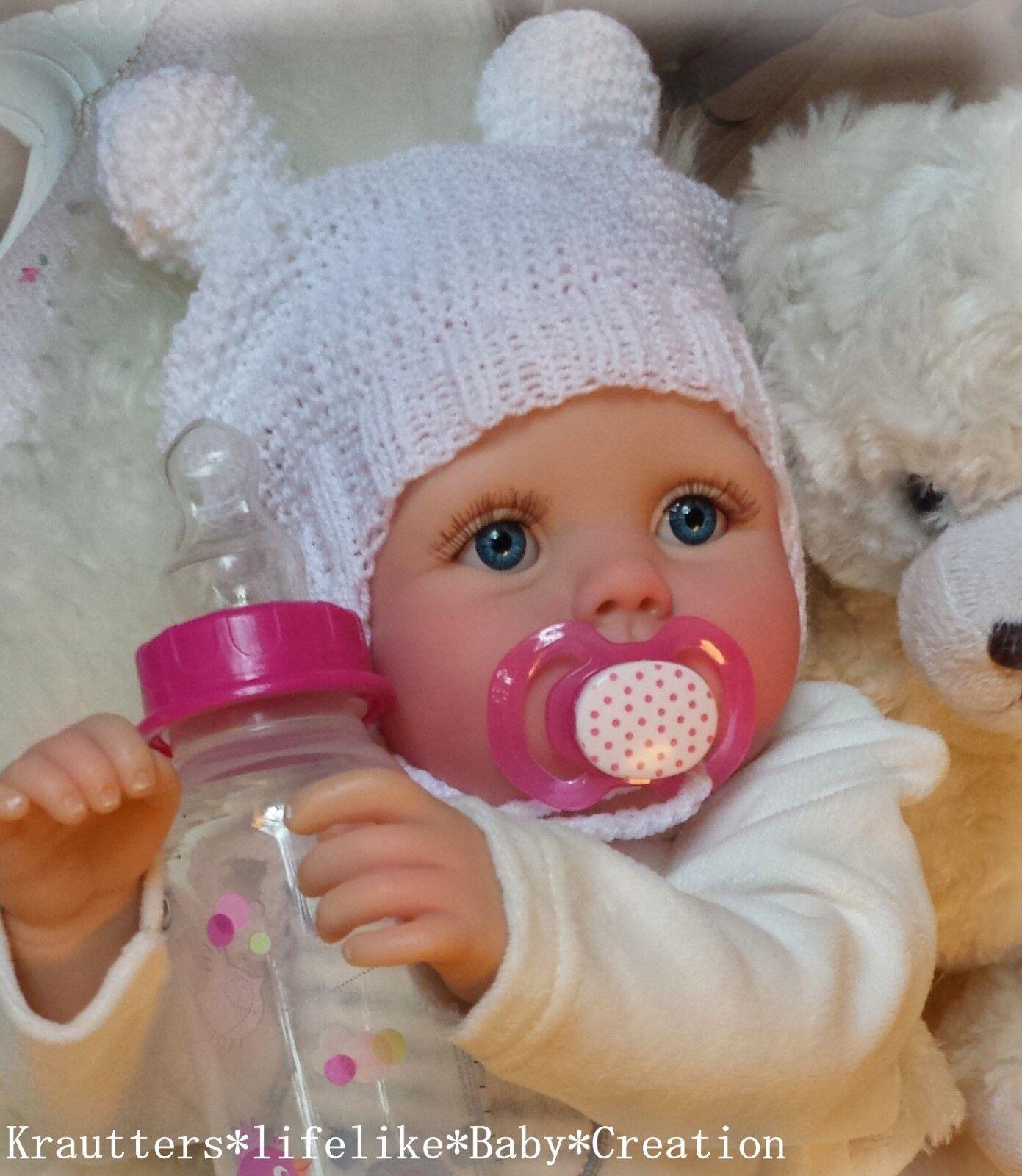 WeihnachtsbabyReborn Reallife Baby BS v.U.L Krautter Babypuppe Puppe ♥✨