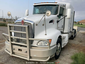 2011 Kenworth T660 T/A Sleeper Truck Tractor Wet Kit PTO A/T A/C Cummins bidadoo