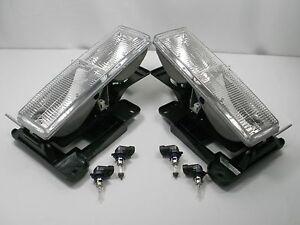 1989-1997-Faros-Par-amp-Bombillas-GMC-Sierra-Camioneta-Pickup-C3500-K3500-C2500