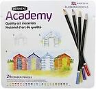 Derwent Academy Colouring Pencils Pack of 24