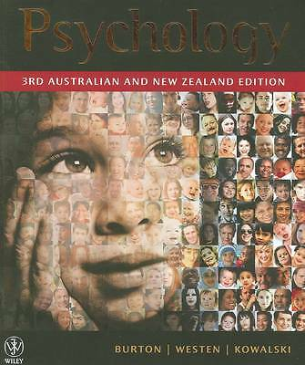 1 of 1 - Psychology by Robin M. Kowalski, Drew Westen, Lorelle J. Burton (Paperback 2011)