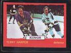 1973-1974 O-PEE-CHEE Terry Harper #80 Hockey Card