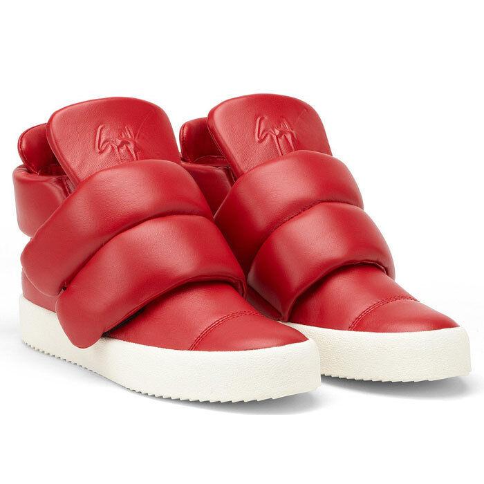 4477125f3f534 $1690 Authentic GIUSEPPE ZANOTTI DESIGN Men's Puff Strap Not Yeezy Sneakers