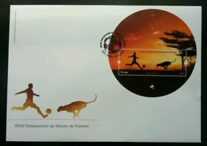 SJ-Portugal-World-Cup-2010-South-Africa-Football-Sport-Games-Leopard-FDC
