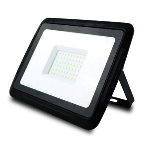 LED-Fluter-Strahler-Aussenlampe-Baulampe-Arbeitslampe-50W-4000-Lumen-IP65-4500K