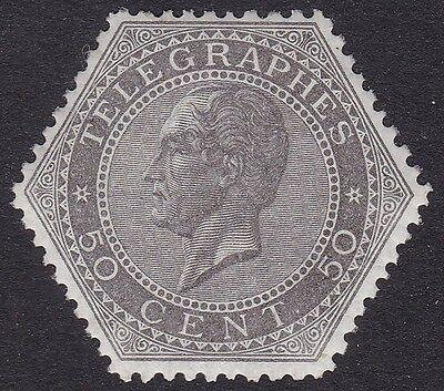 1866 Belgien/belgien/belgique Tel N° 1 50c Grau Mnh Neueste Technik