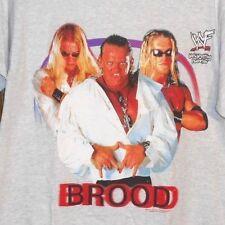Vintage 90s WWF/WWE/TNA THE BROOD EDGE CHRISTIAN GANGREL VAMPIRE T-Shirt sz M