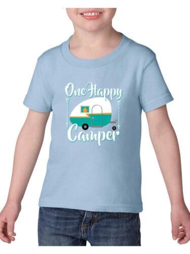 Camping T-Shirt One Camper Camping  Toddler Kids T-Shirt