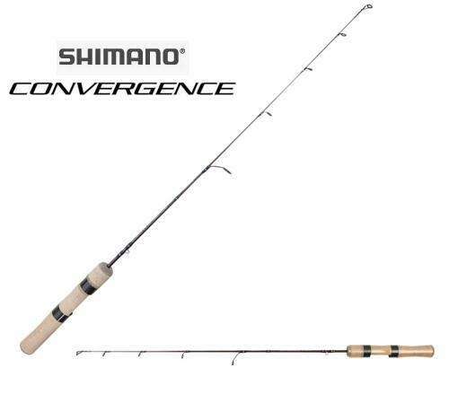 Shimano Convergence Ice Spinning Rod 28  Medium Heavy Fast CVSE28MH W  Reel Seat