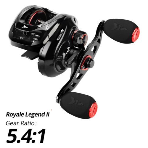 KastKing Royale Legend II 5.4:1 7.2:1 Baitcasting Fishing Reel 17.6 lb Drag