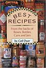 Best Recipes from the Backs of Boxes, Bottles, Cans and Jars by Ceil Dyer (1989, Hardcover)