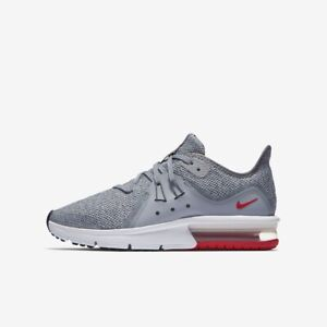 Nike Girl's Nike Air Max Sequent 3 Gs Running Shoe, Size 4.5 M Grey from NORDSTROM | People